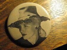 Anita Andra Vintage 1946 Sombrero Style Hat Advertisement Pocket Lipstick Mirror