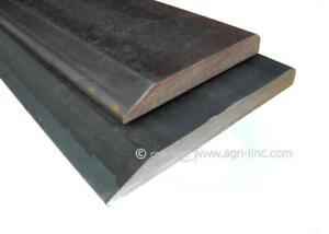 Weld-On Cutting Edge Bucket Wear Strip Heat-Treated Single Bevel