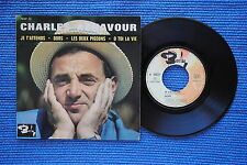 CHARLES AZNAVOUR / EP BARCLAY 70517 / LABEL 1 / BIEM 1963 ( F )