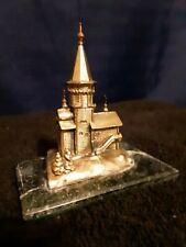 Dormition Church Bronze metal antique Collectible antique souvenir building