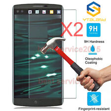 2Pcs 9H+ Premium Tempered Glass Film Screen Protector For LG V10