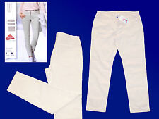 elegante Women's Trousers Stretch Summer Comfort Slim Fit Size 44 NEW