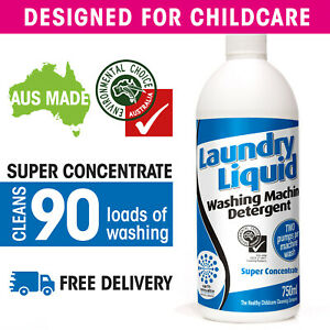 Laundry Liquid Super Concentrate: SEE VIDEO