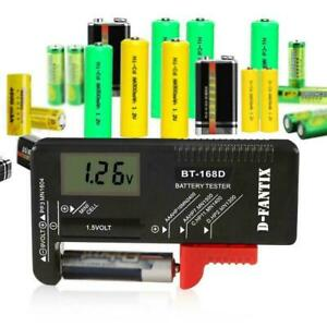 BT168D LCD Smart Digital Batterietester Elektronischer Batterieleistungsme