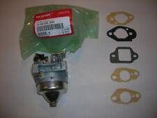 Honda OEM Engine Carburetor ALL HRT216 AND HRZ216 SERIES + 5 Mounting Gaskets
