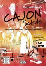 Martin Röttger's Cajon Schule (mit CD + DVD) von Martin Röttger (2009,...