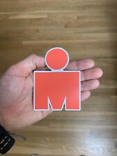 "Ironman Sticker 4"" Decal Triathlon Running Marathon Swimming Cycling Biking Tri"