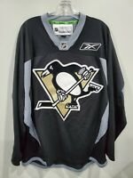 Reebok  Premier NHL Pittsburgh Penguins Black Alternate Jersey Mens M Sewn