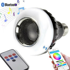 Altoparlante Bluetooth con Telecomando 3+6 LED Party Fun Light Lampadina E27 3W