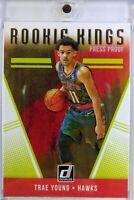 2018-19 Panini Donruss Rookie Kings Press Proof Trae Young RC #24, Atlanta Hawks