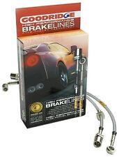 Goodridge 22043 4PC G-Stop Brake Line Kit for 91-94 Nissan Sentra w/Rear Disc