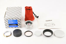 【ALMOST UNUSED TOP MINT】KONICA HEXANON 35mm F/2 L mount  Limited to 1000 Lens JP