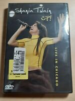 Shania Twain - Up: Live In Chicago (DVD, 2003, Amaray Case) NEW! *FREE SHIPPING*