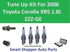 Tune Up Kit for 2006 Toyota Corolla XRS 1.8L PCV Valve, Spark Plug, Oil Filter
