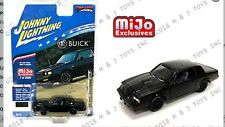 PREORDER Johnny Lightning Mijo Exclusive 1987 Buick Grand National GNX black