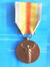 #3022#Jolie Médaille interalliée 1914-1918/La Grande guerre pour la civilisation