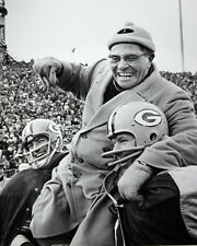 1961 Green Bay Packers VINCE LOMBARDI Glossy 8x10 Photo Football Print Poster