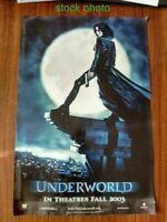 Underworld 2003 Kate Beckinsale Original Pre-Release Move Poster 17x11.5 VryFine