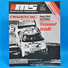 DDR Illustrierter Motorsport IMS 2/1990 Ford Scorpio BMW M3 VW Futura NSU L