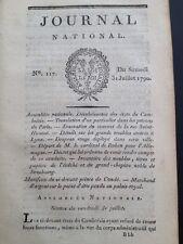 Régiment Suisse de Sonnemberg en 1790 Lyon Strasbourg Nohan Condé