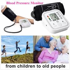 Portable Auto Digital Arm Blood Pressure Monitor Cuff Home BP Machine Device New