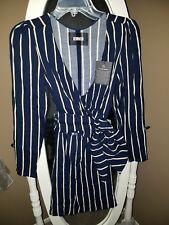 NWT Reformation Zircon Dress, Capone Stripe, 0