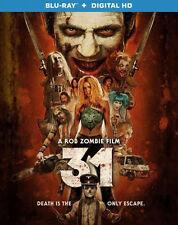31 (THIRTY ONE) Rob Zombie - BLU RAY - Region A - Sealed