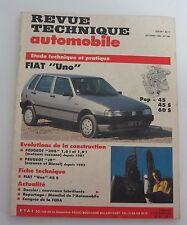 Revue technique automobile RTA 520 Fiat uno pop 45 45 S 60 S