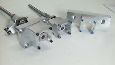 Grizzly G0704 CNC Mill Conversion Kit with Double Ball Nuts.