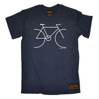 Cycling T-Shirt Funny Novelty Mens tee TShirt - Bike Simple