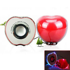 Portable Apple Style USB Powered 3.5mm Wired Desktop Speaker Set for PC / Laptop