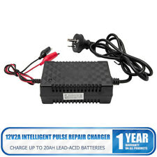 12V Automatic Battery Float Charger Kit Motorcycle Car Boat RVs Van Trickle AU