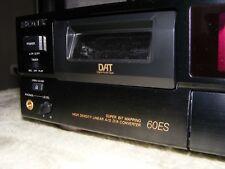 Sony Dat Recorder DTC-60ES Rekorder DTC 60 ES Esprit Serie inkl. FB -Defekt-