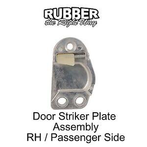 1961 1962 1963 Ford Thunderbird Door Striker Plate Assembly - RH