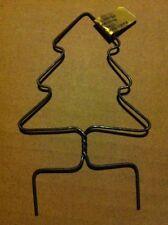 basket handle Christmas Tree Shaped Metal 3 inch X 4 7/8 inch