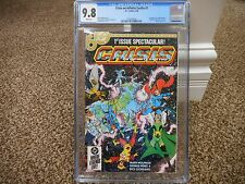 Crisis on Infinite Earths 1 cgc 9.8 1st appearance of Blue Beetle in DC 1985 JLA