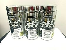 Muscletech Clear Muscle - 168 Liquid Caps - New Sealed . BUILD MUSCLE