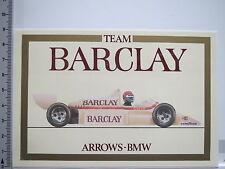 Adesivo sticker BARCLEY-ARROWS BMW-AUTO DA CORSA-RACING (6563)