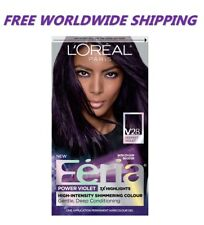 L'Oreal Feria Hair Color V28 Deepest Violet Hairstyle Fashion WORLD SHIP