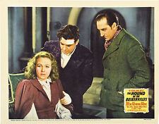 Hound of the Baskervilles 11 X 14 Lobby Card LC  Basil Rathbone Richard Greene