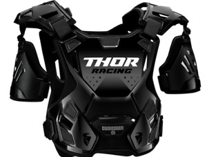 Thor Guardian Roost Deflector Chest Protector - Black