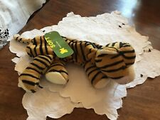 Plush Soft Tiger pencil case New With Tags