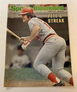 Sports Illustrated Pete Rose Cincinnati Reds 1978 Cover Only 8/7/78 SI Streak