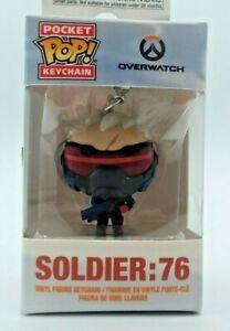 FUNKO Overwatch Pocket Pop! Keychain Soldier 76 Blizzard Activison Stocking Gift