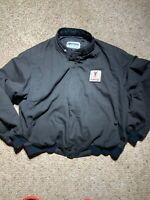 Vintage 80/90s Pontiac Men's Black Bomber Full Zip Jacket XXL