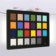 ColorChecker Color Checker passport 24 patch Colori 14.9x 21.3cm Per Munsell