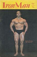 IRON MAN MAGAZINE DEC 72-JAN 73 MR. UNIVERSE ELIAS PETSAS COVER