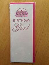 Glam Birthday Girl Handbag Clutch Blank Card *NEW* Adult Kids Children's (567)