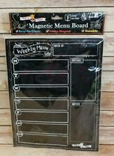 Magnetic Erasable Menu Board For Refrigerator 30cm x 40cm By Crafty Crown