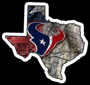 Houston Texans MAGNET - NFL Premium Die Cut Vinyl Football Fan Magnet Texas